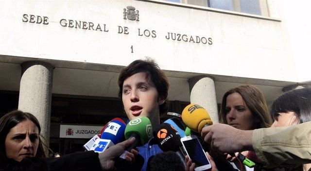 Archivo - El Pequeño Nicolás en los juzgados de Plaza de Castilla
