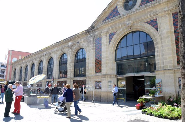 Archivo - Mercado de Abastos de Jerez