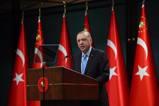 Archivo - Arxiu - Recep Tayyip Erdogan, president de Turquia