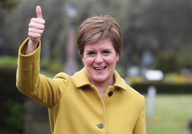 La ministra principal d'Escòcia, Nicola Sturgeon
