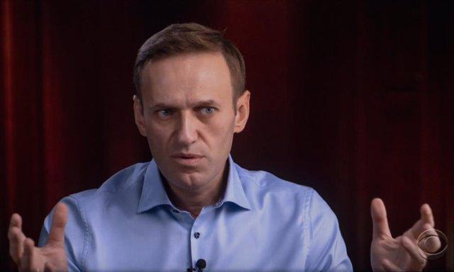 Archivo - Alexei Navalni en una entrevista con la televisión estadounidense en octubre de 2020