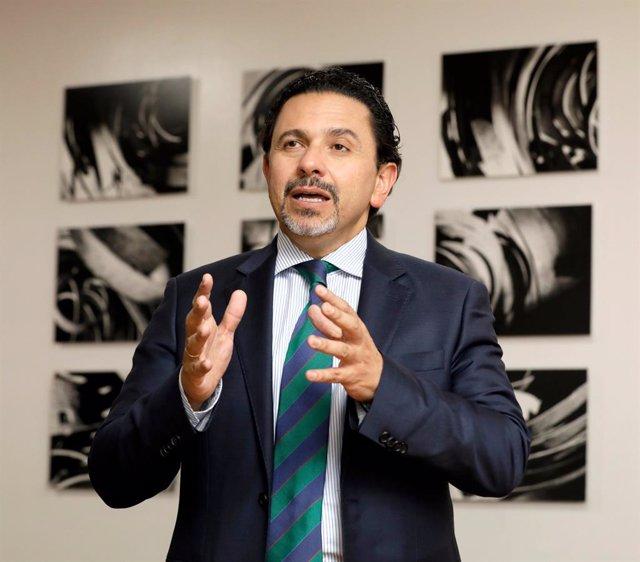 Archivo - El Alto Comisionado para la Paz de Colombia, Miguel Ceballos