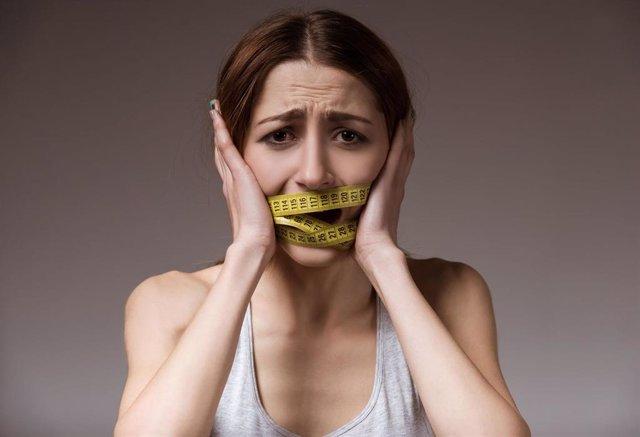 Archivo - Bulimia. Anorexia. Trastorno alimentario.