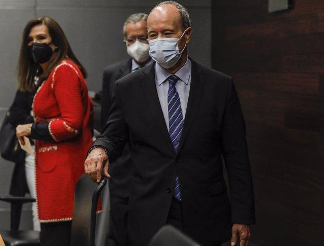 Arxiu - El ministre de Justícia del Govern central, Juan Carlos Campo.