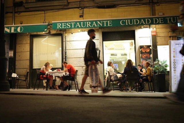 Un restaurante en Madrid