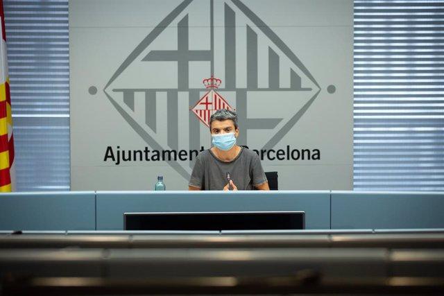 Archivo - Arxiu - La regidora d'Habitatge de Barcelona, Lucía Martín.