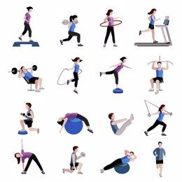 Combinar entrenamiento de fuerza con el cardiovascular logra reducir la grasa corporal a largo plazo