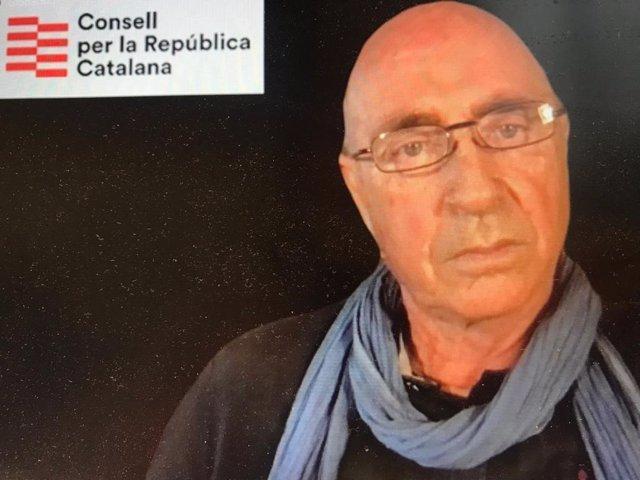 Cantant i membre de la direcció del Consell per la República, Lluís Llach.