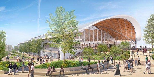 Futura estación de tren en Birmingham