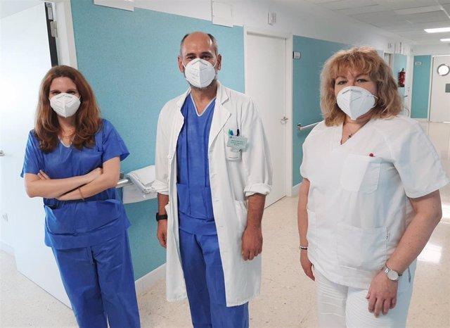 Miembros del Servicio de Medicina Interna del Hospital Infanta Elena de Huelva.