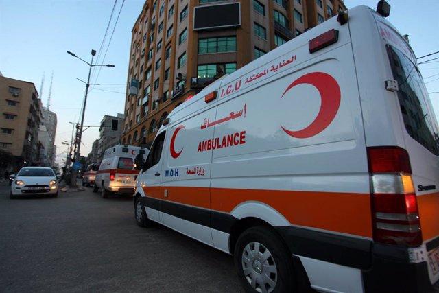 Ambulància en la Franja de Gaza