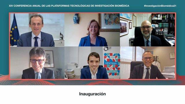 'XIV Conferencia Anual De Las Plataformas Tecnológicas De Investigación Biomédica'