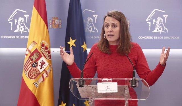 Archivo - Arxiu - La diputada de la CUP al Congrés Mireia Vehí.