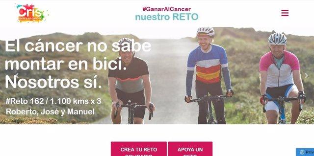 CRIS contra el cáncer lanza la plataforma #GanarAlCáncer para conseguir fondos para la investigación.