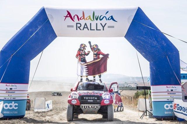 Archivo - El Rally Andalucía 2021 reúne a 125 coches y 95 motos en su segunda edición