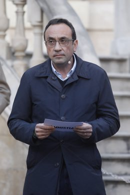 Archivo - Arxiu - L'exconseller de Territori i Sostenibilitat de la Generalitat, Josep Rull.