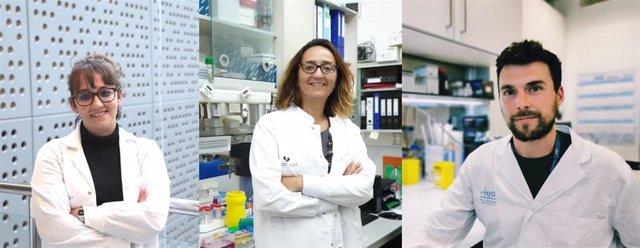 Las doctoras Verónica Rodilla y Verónica Torrano y el doctor Nicolás Herranz
