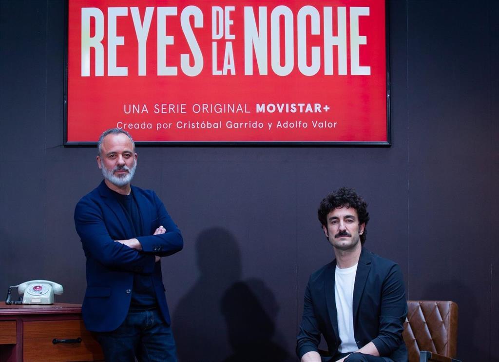 """Javier Gutiérrez, bestia de la radio en Reyes de la Noche: """"Es una serie muy salvaje y aún así nos hemos quedado cortos"""""""