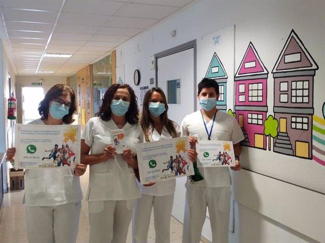 Programa 'Vivir', para acercarse a los pequeños hospitalizados a través de videollamadas