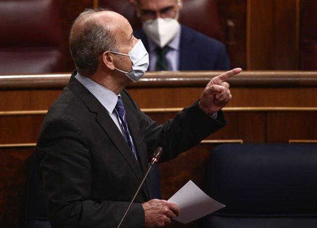 Archivo - Arxiu - El ministre de Justícia, Juan Carlos Campo.