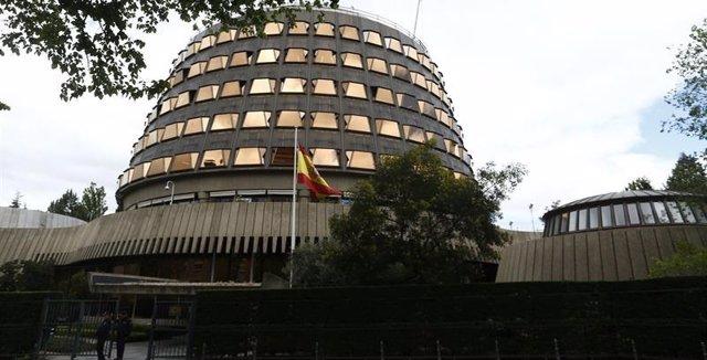Archivo - Imagen de recursod e la sede del Tribunal Constitucional (TC).