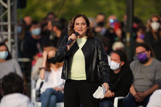 Arxiu - L'alcaldessa de Barcelona, Ada Colau.