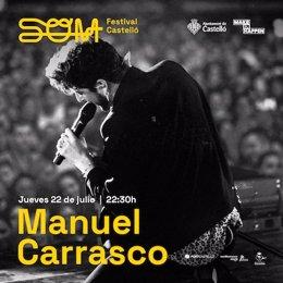 Són Festival confirma l'actuació de Manuel Carrasco