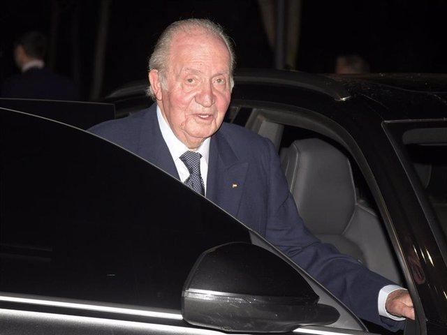 Archivo - El Rey emérito Juan Carlos I, en una imagen de archivo