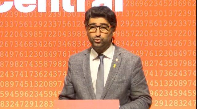 El conseller de Polítiques Digitals i Administració Pública de la Generalitat en funcions, Jordi Puigneró.