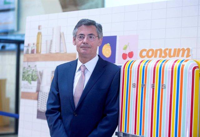 Archivo - El director general de Consum, Juan Luis Durich (imagen de archivo)