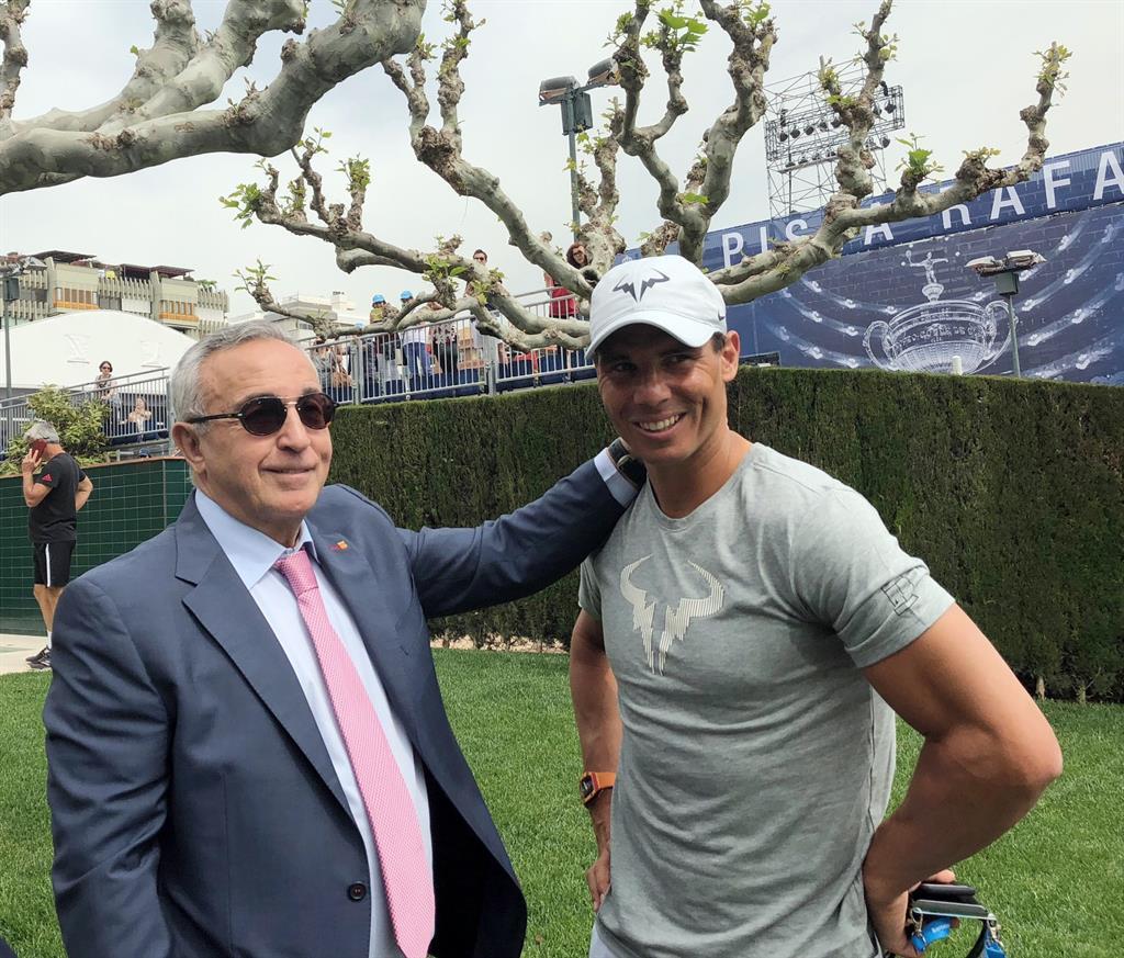 """Alejandro Blanco: """"Rafa Nadal ha dado tanto al deporte mundial que no me imagino los Juegos sin él"""""""