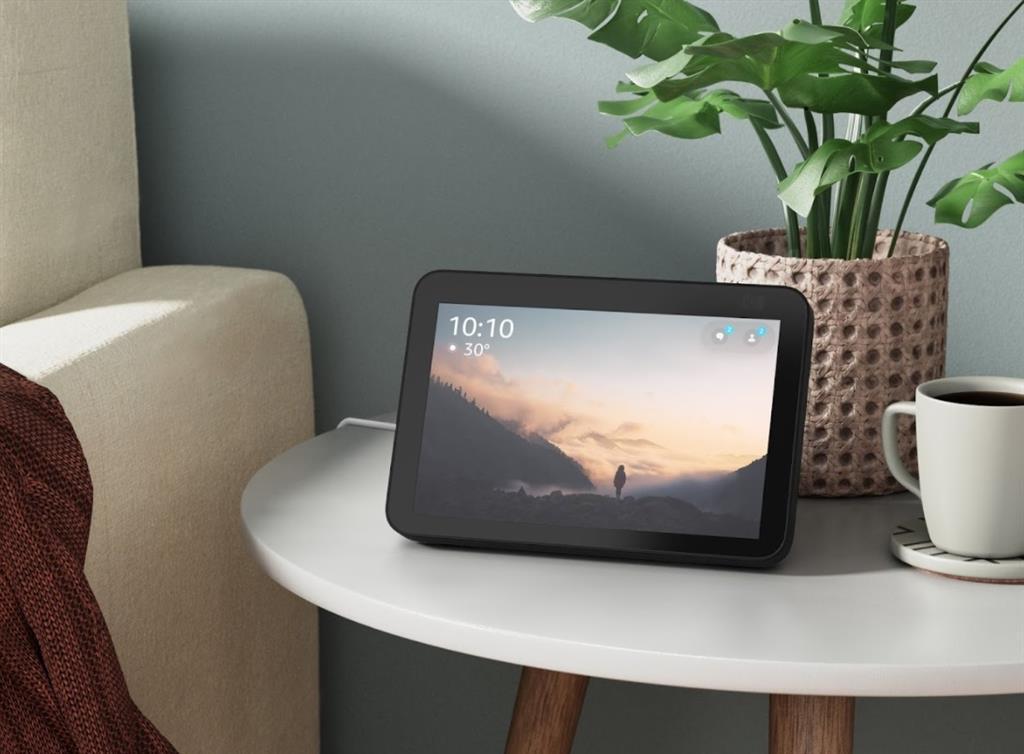 Las nuevas pantallas Echo Show de Amazon mejoran la cámara para las videollamadas y la vigilancia del hogar