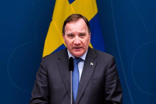Archivo - El primer ministro de Suecia, Stefan Lofven