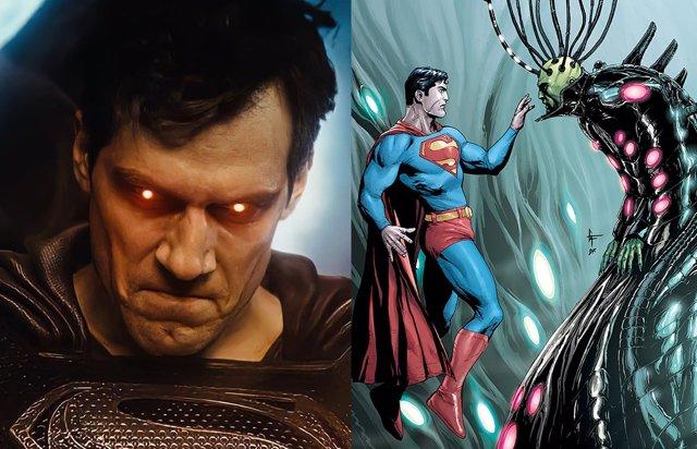 Brainiac era el gran villano de El Hombre de Acero 2 de Zack Snyder