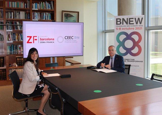 Arxiu - El CZFB i el CEEC acorden un conveni per a la segona edició del BNEW a Barcelona, que se celebrarà del 5 al 8 d'octubre del 2021.