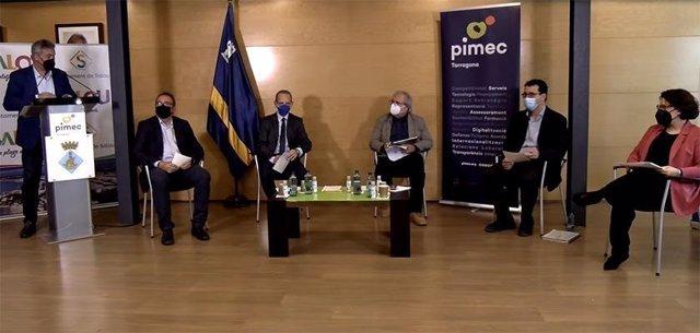 """Pimec Tarragona alerta que """"el país patirà"""" si els fons europeus no arriben a les pimes."""