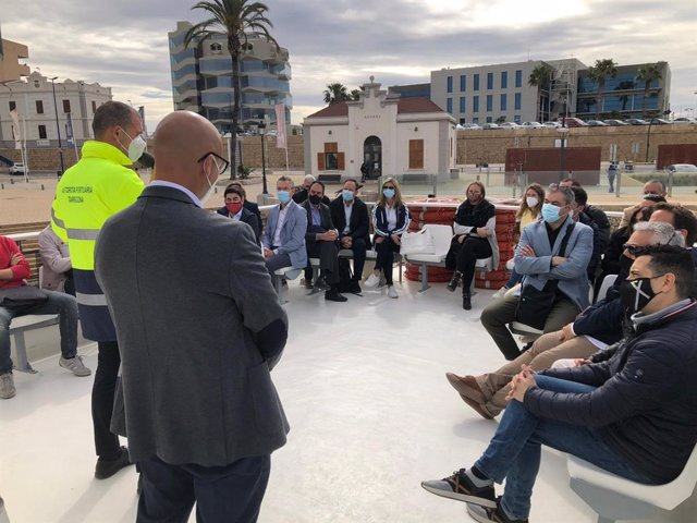 Arxiu - El Port de Tarragona presenta els seus projectes tecnològics al Clúster TIC Catalunya Sud.