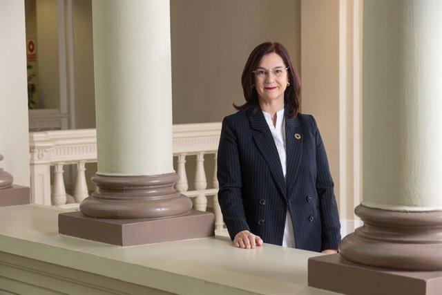 Archivo - Arxiu - La presidenta de la CNMC, Cani Fernández.