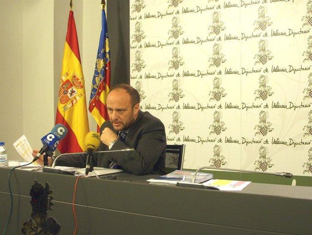 Archivo - Arxiu - El subdelegat del Govern central a València, Rafael Rubio.