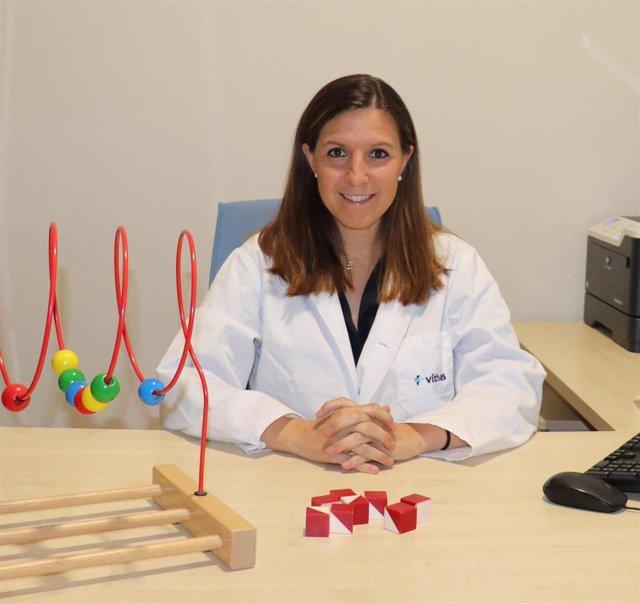 La doctora Rocío Juárez, responsable del área de psicología infantil de Vithas Xanit Internacional, participa en un estudio sobre la influencia del confinamiento en menores con TDAH y sin este trastorno