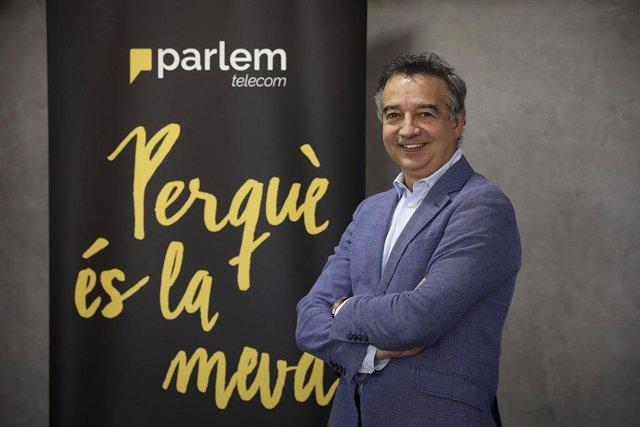 Archivo - Arxiu - Ernest Pérez-Mas, fundador i CEO de la companyi Parlem Telecom.