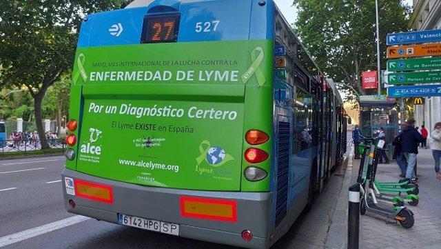 Campaña dre mayo de la Asociación de Lyme Crónico de España.