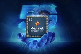 Archivo - Procesador Dimensity 900 5G para smartphones