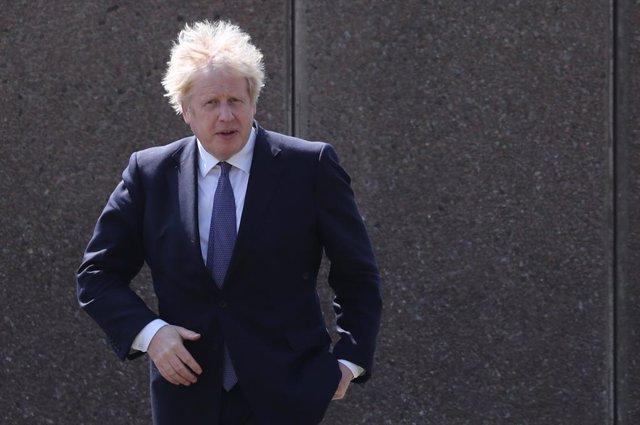 Arxiu - El primer ministre britànic, Boris Johnson.