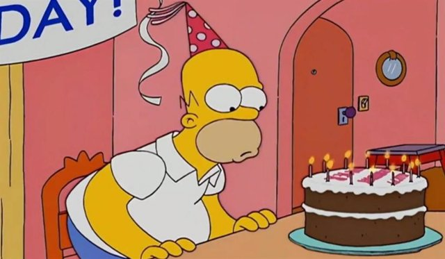 Homer Simpson cumple 65 años