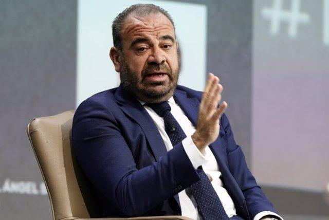 El consejero delegado de Meliá Hotels International, Gabriel Escarrer, durante su intervención en el Foro Hosteltur.