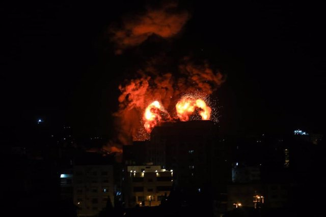 Bombardeo de Israel contra la Franja de Gaza