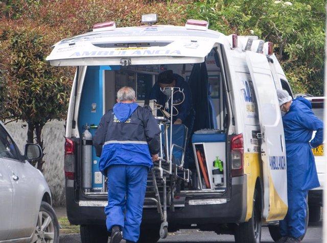 Archivo - Ambulancia en Colombia.