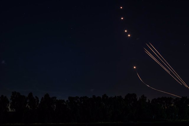 El sistema Cúpula de Ferro incercepta coets sobre Israel