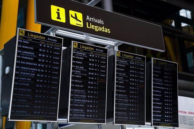 Arxiu - Aeroport Adolfo Suárez, Madrid-Barajas.